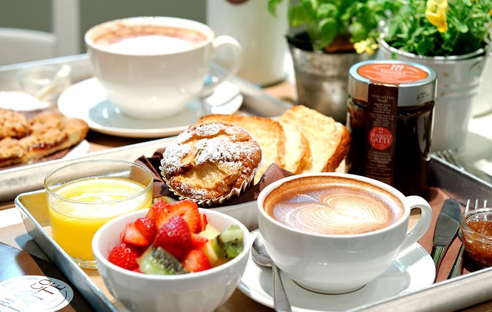 Biancolatte offre una colazione speciale ogni mattina!