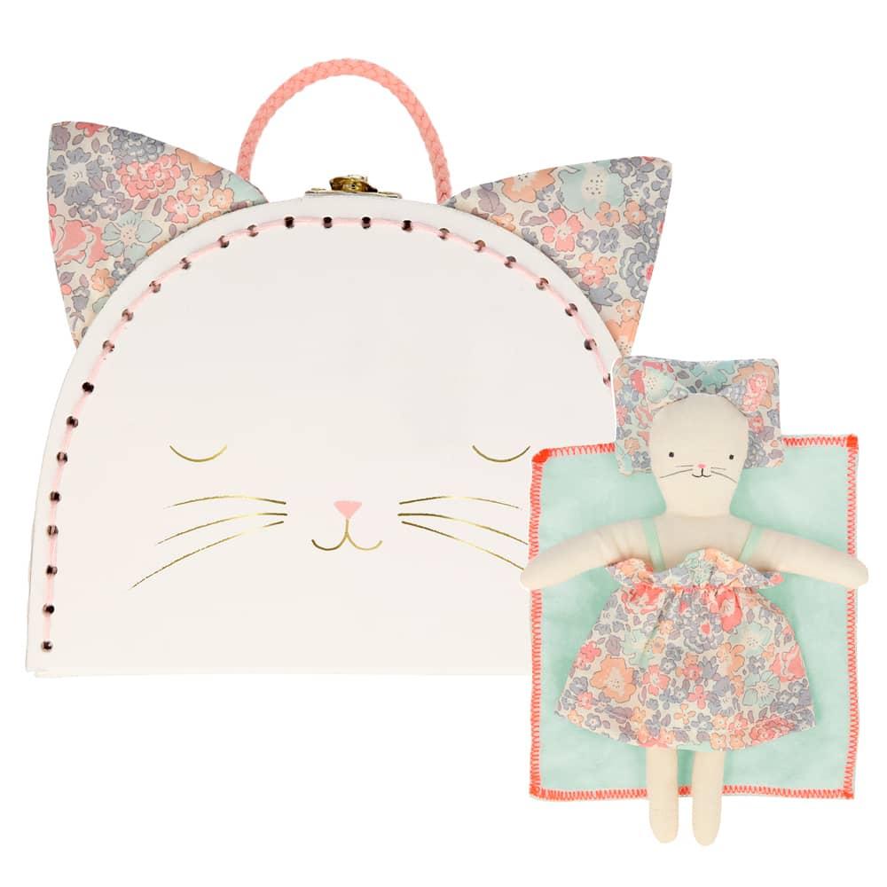 204976 mini suitcase kitty