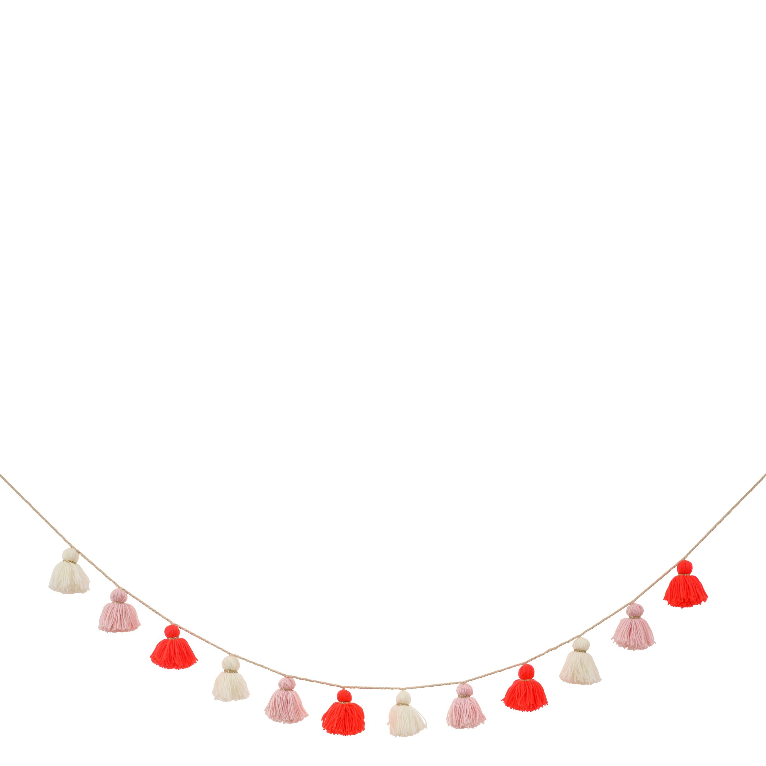 festone nappine rosa 156979