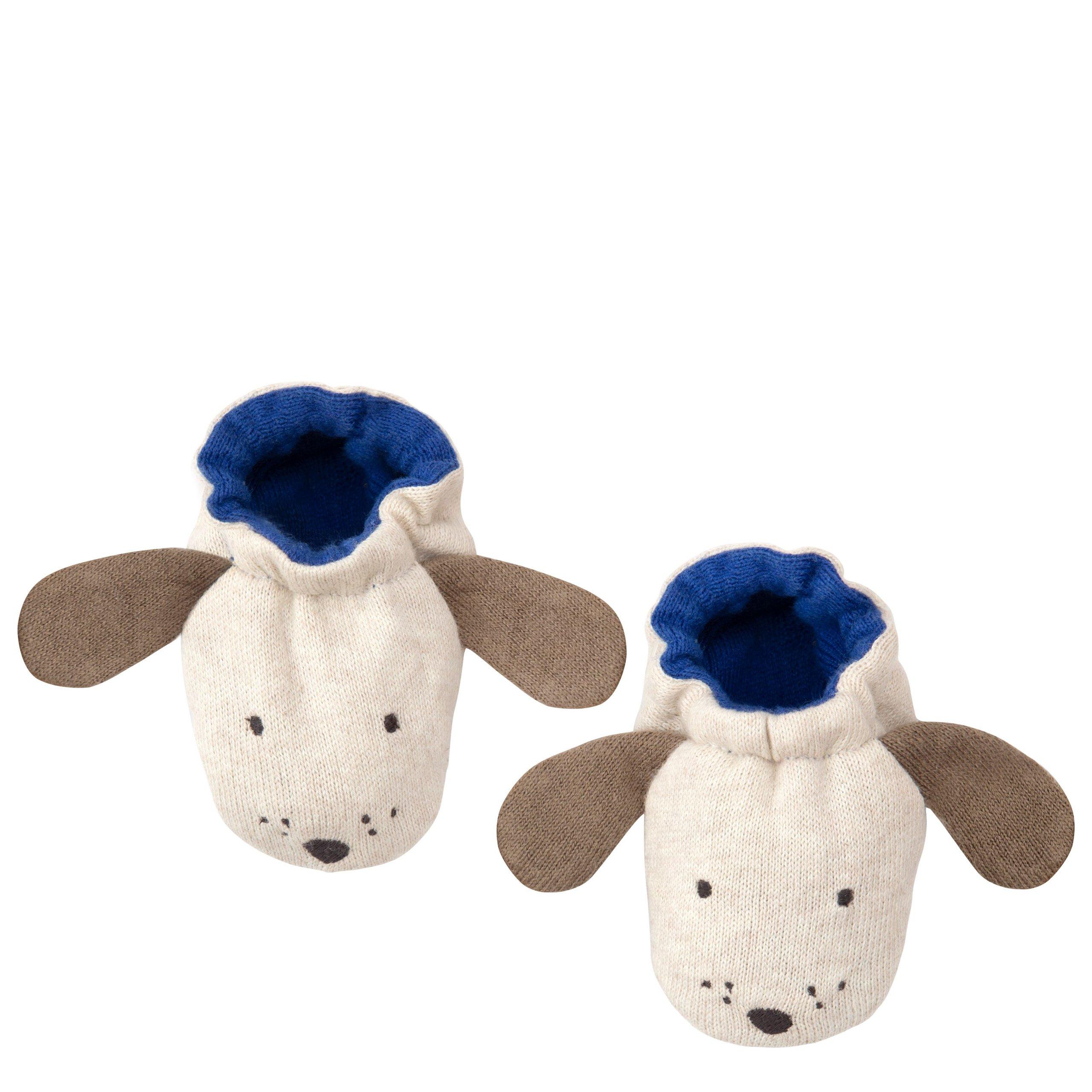 scarpette cagnolino blu 186343