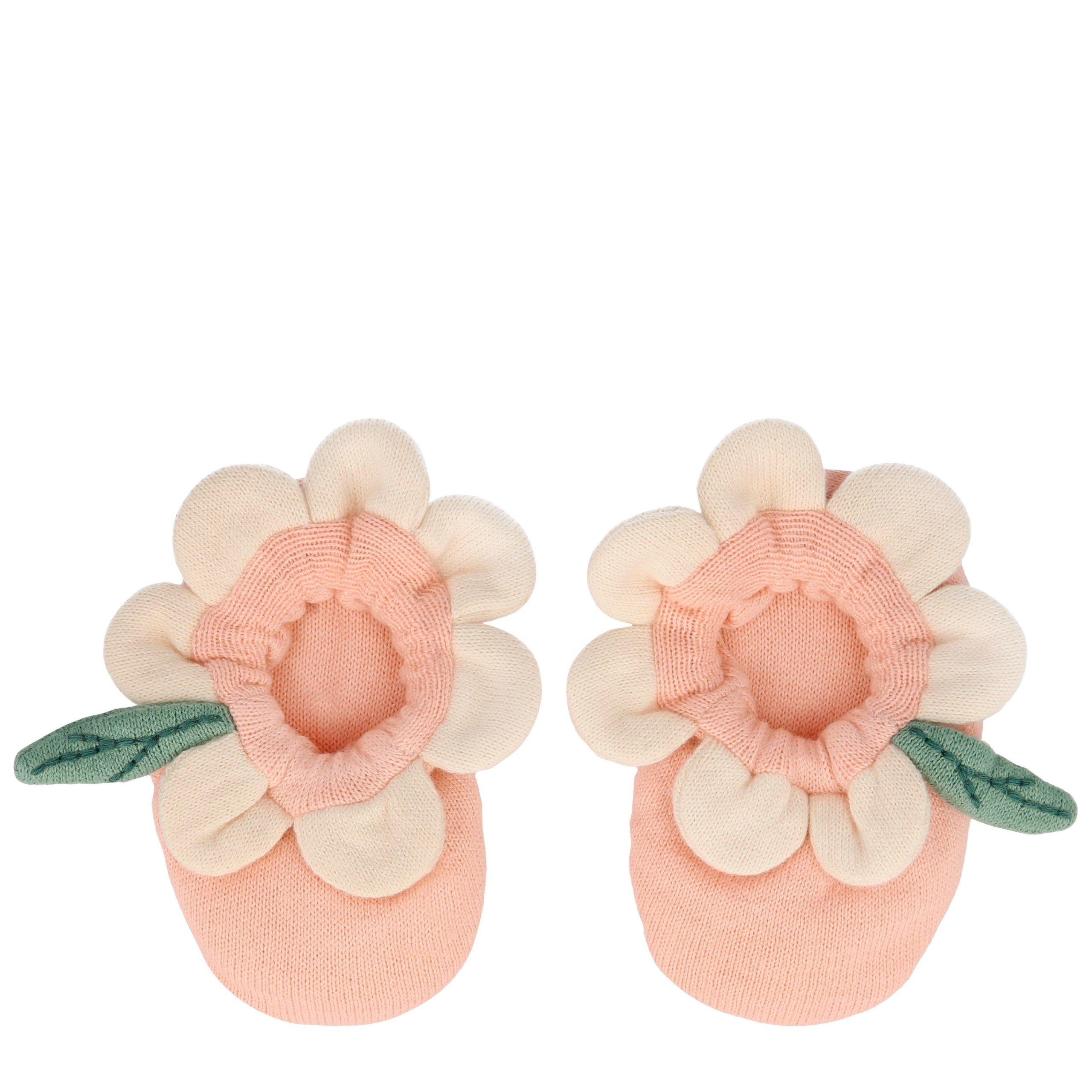 scarpette fiore rosa 202281