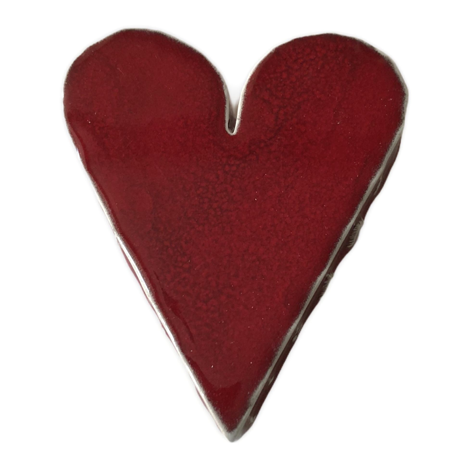 cuore grande rosso nuovo