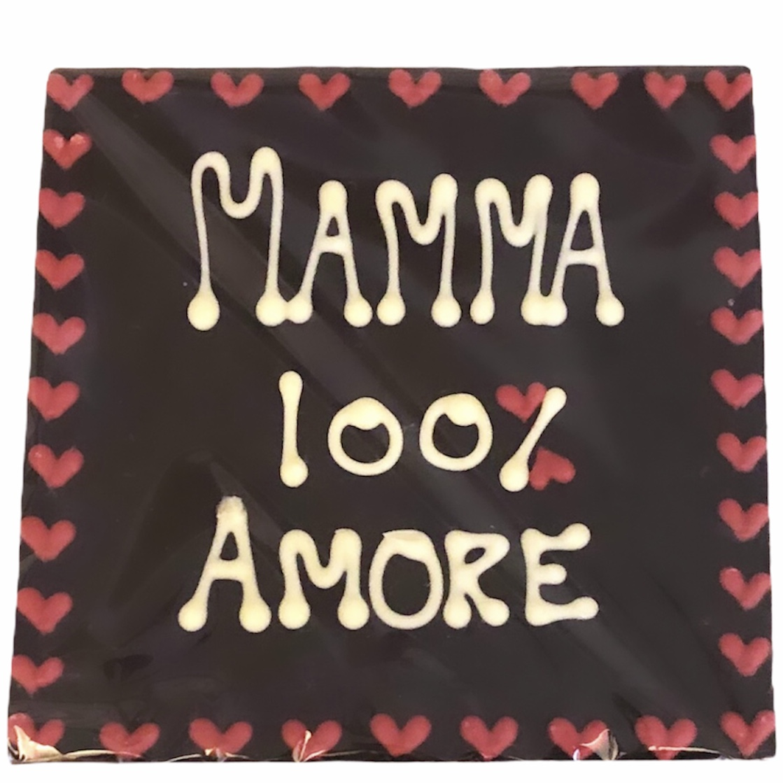 mamma 100% amore tavoletta